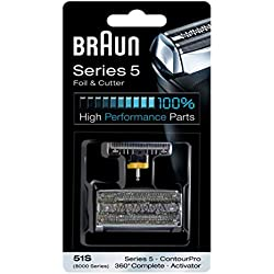 Braun 8000 360 Complete Foil and Cutter Block for Models 8995, 8985 and 8975 by Braun (English Manual)