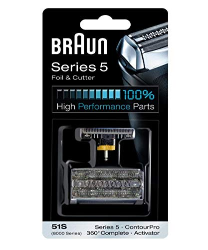 Braun 51S Series 5 Heads and Foil Cutter Pack - Cutter Pack