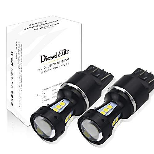 T20 LED Brouillard Lampe Voiture Anti-Brouillard 6000K 950LM 3030 SMD Chips 18W 12V LED Ampoule pour moto/DRL/phares antibrouillard-1 an Garantie
