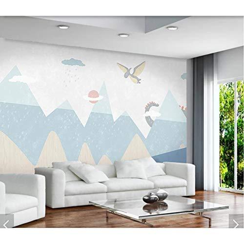 arton Dinosaurier Tapete Wandbild Kinder Schlafzimmer Tapeten Roll Home Wall Decor Wandbilder Aufkleber 3D Tapeten ()