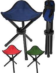 Klapphocker Dreibein in verschiedenen Farben