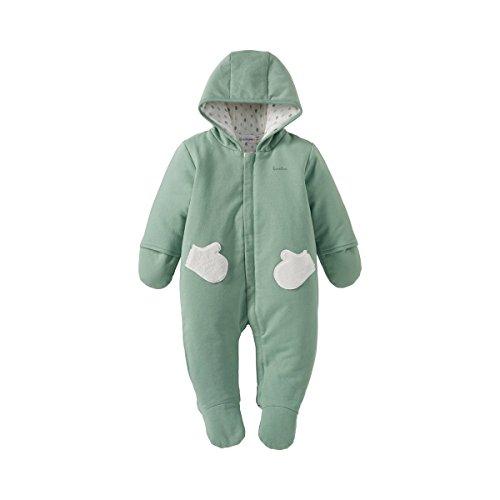 BORNINO Sweatoverall gefüttert Baby-Schneebekleidung, Größe 50/56, grün