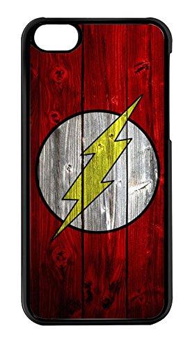 blackase Schutzhülle iPod Touch 6–Logo Flash Super Hero Holz–ref 700 700 Etui