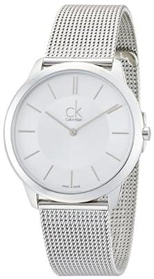 Calvin Klein Reloj Analógico de Cuarzo para Hombre con Correa de Acero Inoxidable – K3M21126 de Calvin Klein