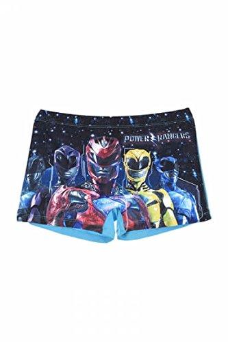 Kinder Power Rangers Schwimmen Kostüm / Swim Short. (10 Jahre (140 cm), Blau) (Powerrangers Kostüme)