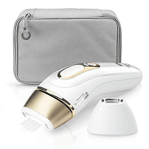 Braun Silk-expert Pro 5 IPL PL5117 Haarentferner, weiß/Gold, inkl. Etui +