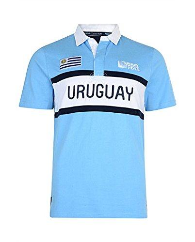 Uruguay RWC 2015 Rugby Jersey (Blue) (Uruguay Jersey)