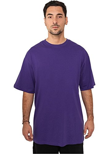 TB006 'Urban Classics' T-Shirt Tall Tee M-6XL (Various Colours), Größe:XL;Farbe:purple (Sleeve Tall Long Tee)