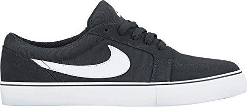 Nike Sb Satire Ii, Baskets Basses Homme, TOP Negro / Blanco (Black/White)