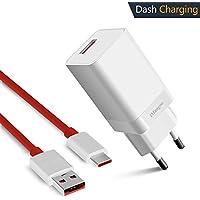 Oneplus 6 Cargador, iMangoo OnePlus Dash Cargador [5 V 4 A] + Dash Cable de carga 3.3 FT USB Tipo C cable de Carga Rápida para OnePlus 6 5T 5 3 3T