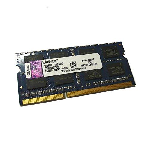 Price comparison product image 4GB Kingston kth-x3b-4g Laptop SODIMM DDR3 PC3-10600S RAM CL9