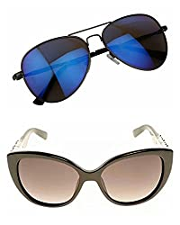 Redix Combo Traditional collection New Butterfly and CatEye Womens Sunglasses