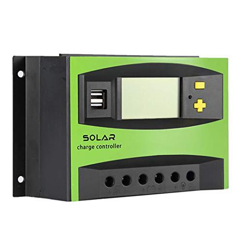 Jtihgnfg 40a regolatore di carica solare pwm regolatore di carica intelligente pannello fotovoltaico ricarica 12v / 24v auto adattabile 48v regolatore del caricabatteria del pannello solare (48v)