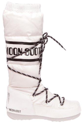 Moon Boot W.E. Duvet, Boots femme Blanc (Bianco)