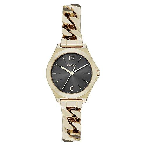 DKNY Reloj analogico para Mujer de Cuarzo con Correa en Acero Inoxidable NY2425