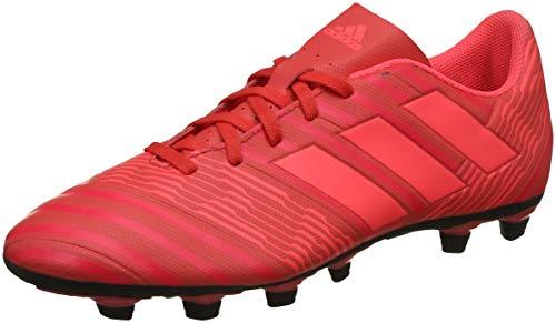 adidas Nemeziz 17.4 FxG, Scarpe da Calcio Uomo, Rosso Reacor/Redzes/Cblack, 43 1/3 EU