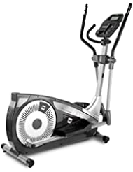 BH Fitness i.NLS18 G2382I Crosstrainer - Ellipsentrainer - Anti-Rutsch XXL Pedale - Apple/Android kompatibel
