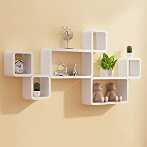 gitter wandregal wei deine. Black Bedroom Furniture Sets. Home Design Ideas