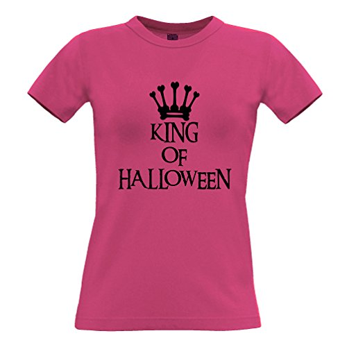 King Of Halloween Spooky Scary Kostüme Lustig Cool Creepy Königs Frauen (Kostüme Kings La Halloween)