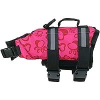 tyughjytu Pet Dog Giubbotto di Sicurezza Abbigliamento Life Vest Nuoto  Abbigliamento Costume da Bagno Estate 24360aae7966