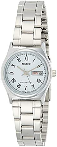 Casio Watch Analogue Display and Stainless Steel Strap