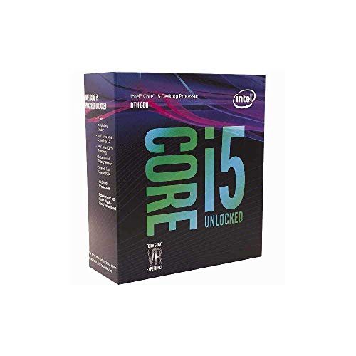 Foto Intel Core i5-8600K, 3.6 GHZ, 9MB Cache, LGA 1151