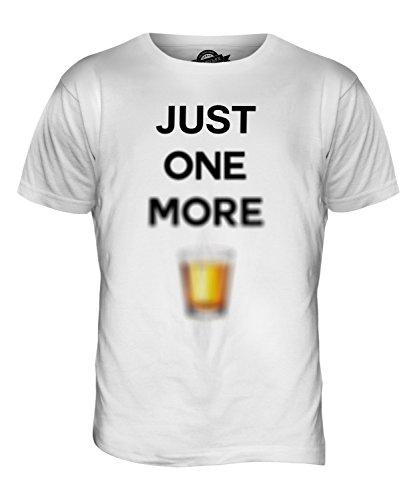 CandyMix Just One More Kurzer Herren T Shirt Weiß