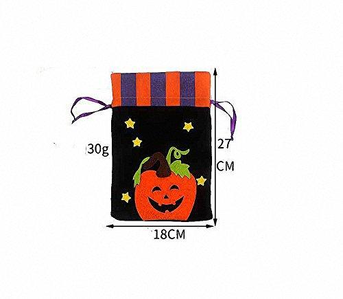 o Artikel Cookie oder Apple in Geschenk Tüte, schwarz (Halloween Ideen Für Jugendliche)