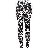 Pantalones Leggings Deportivos Yoga para Mujer Otoño Invierno 2018 PAOLIAN Pantalones Running Fitness Moda Cintura Alta Elástica Pantalones Jogger de Chandal Señora Tallas Grandes Estampado