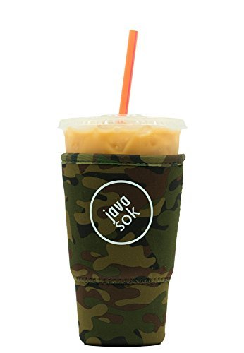 iced-java-sok-green-camo-large-perfect-fit-neoprene-cup-sleeve-for-dunkin-donuts-and-starbucks-and-o