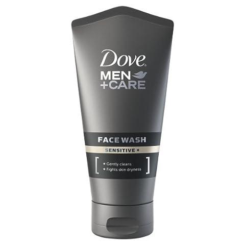 Dove Men+Care Sensitive Face Wash 150 ml - Pack of 2