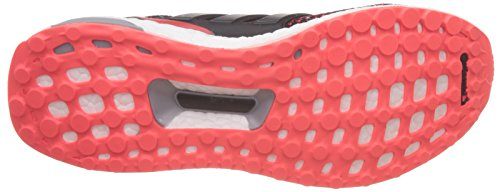 adidas Ultraboost M, Chaussures de Running Entrainement Homme, Blanc, 40 EU Multicolore - Varios colores (Negro (Negbas / Negbas / Rojsol))