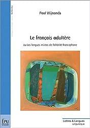 Le français adultère