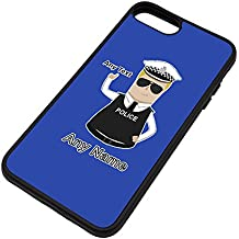 Personalised Gift - Traffic Officer (Chief) Superintendent iPhone 8 / iPhone 7 Case (Police Design Theme, Colour Options) - Any Name / Message on Your Unique - Super Supt SP CS - Blonde / Yellow Hair Policeman Hat Cap