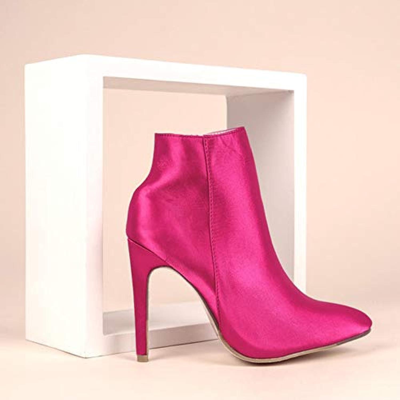 niooo bottes pour dames en automne hiver sont bottes à la mode ou bottes sont de minces b07gd4prdy rouge 7fdbe6