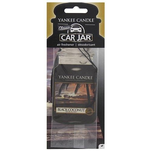 YANKEE CANDLE 1295691E, Classico, Color Nero, Deodorante Auto, fragranza: Cocco