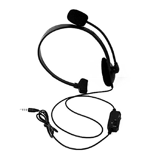 joyliveCY Earphone Wired Gaming Headset With Mic And Volume Control For Sony Playstation 4 by joyliveCY