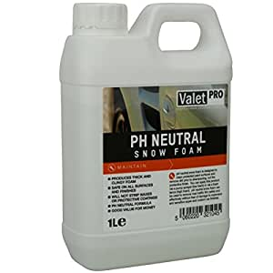 valet pro ph neutral snow foam shampoo 1 liter. Black Bedroom Furniture Sets. Home Design Ideas