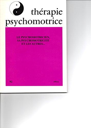 Thérapie Psychomotrice N°92