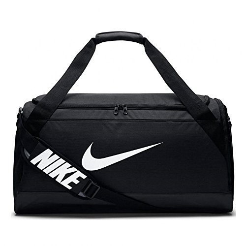 Nike Unisex Sporttasche Brasilia 6, schwarz, 62 x 33 x 35 cm, 62 Liter, BA4829-001