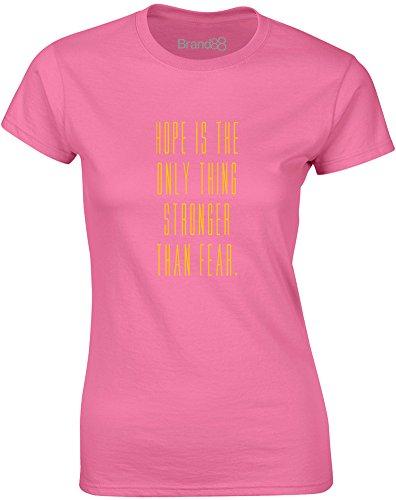 Brand88 - Stronger Than Fear, Gedruckt Frauen T-Shirt Azalee