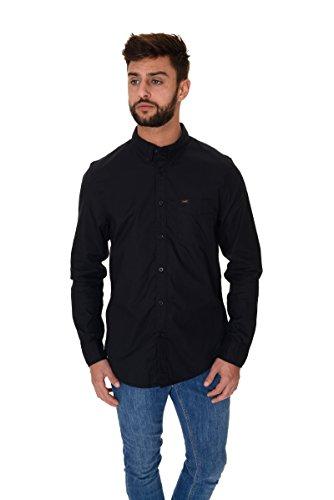 Lee Button Down, Camicia Uomo Nero (Black)