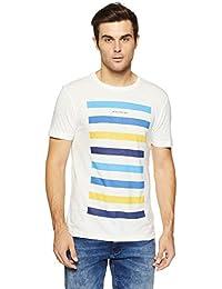 LP Jeans By Louis Philippe Men's Solid Slim Fit T-Shirt - B07DSZ55VS
