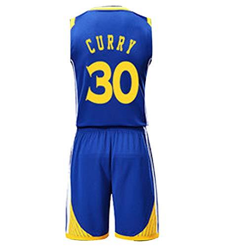 GY Stephen Curry Kevin Durant # 35 30 Golden State Warriors Basketballtrikot M-XXXL - Kostüm Sportbekleidung Herrenbekleidung, Atmungsaktivität (Frauen Basketball Spieler Kostüm)