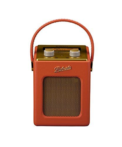 Roberts Revival Mini DAB/DAB+/FM Digital Radio - Sunburst Orange