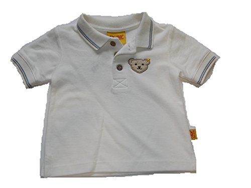 Steiff Collection Mini Boys Poloshirt / T- Shirt gr. 62 cloud dancer