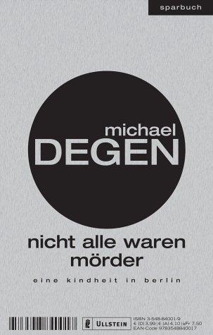 Buchseite und Rezensionen zu 'Nicht alle waren Mörder' von Michael Degen
