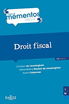 Droit fiscal (Mémentos)
