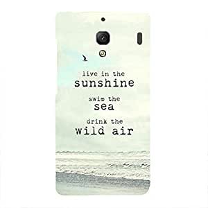 Back cover for Redmi 1S Live in the Sunshine