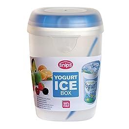 Snips PORTA YOGURT – Contenitore refrigerato con cucchiaino da 0,5 lt